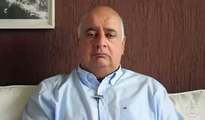Rogério Onofre, ex-presidente do Detro, é alvo da operação da Lava Jato  (Crédito: Reprodução/TV Globo)