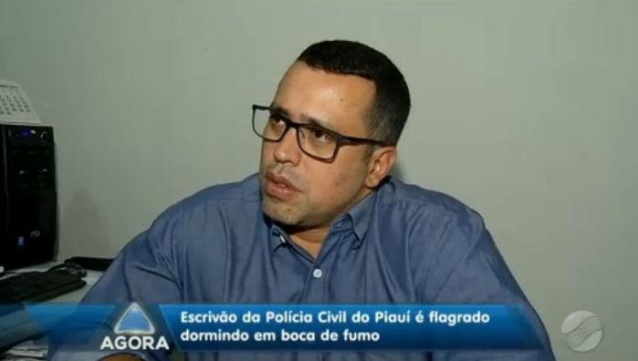Corregedor da Polícia Civil, Adolfo Cardoso (Crédito: Rede Meio Norte)