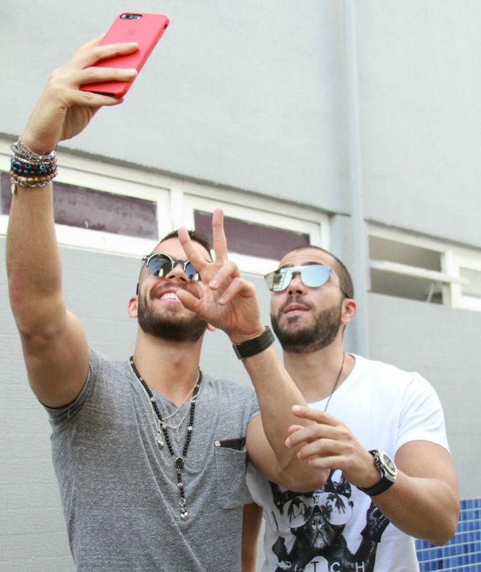 Rafa e Pipo Marques (Crédito: Raissa Morais)