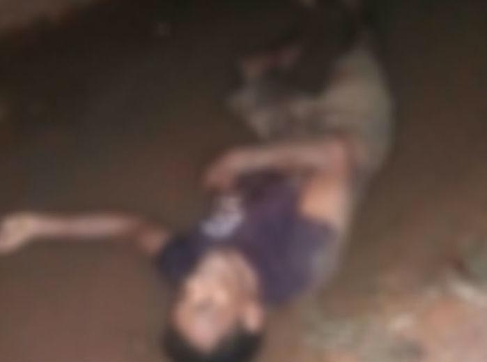Homem encontrado morto no Parque Alvorada, em Timon (Crédito: Polícia Civil)