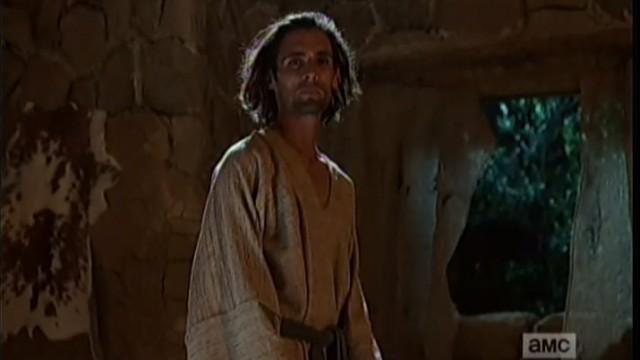 """Ator que interpreta Jesus na série """"Preacher"""" (Crédito: AMC/Reprodução)"""