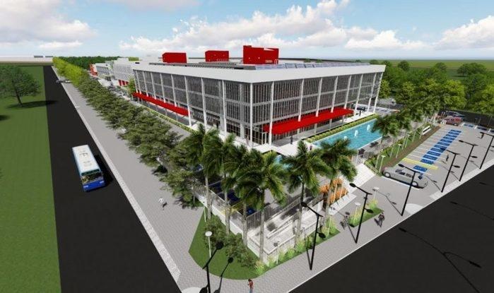 Projeto do novo Palácio da Justiça (Crédito: TJ-PI/Divulgação)