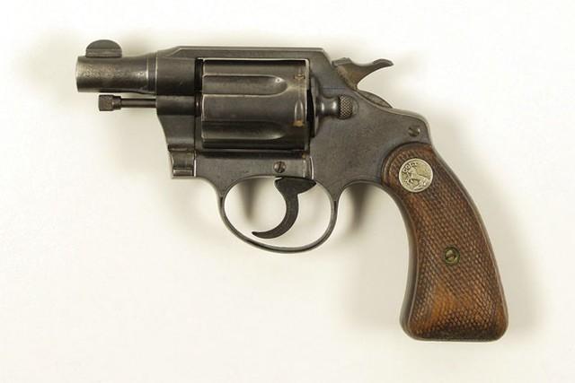 A arma não era de brinquedo (Crédito: Reuters)
