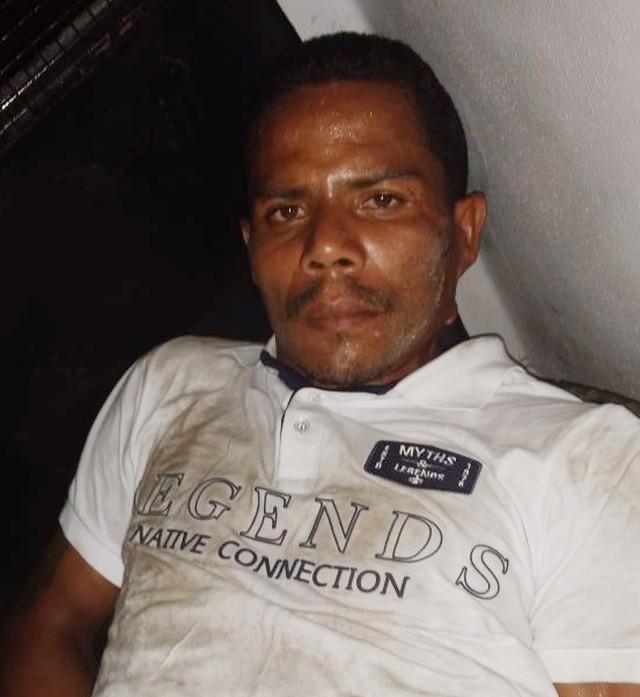 Lucelmo Farias Gomes, suspeito de matar o segurança (Crédito: Divulgação)