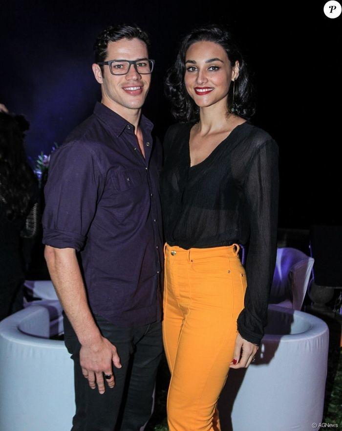 José Loreto e Débora Nascimento (Crédito: Agência News)