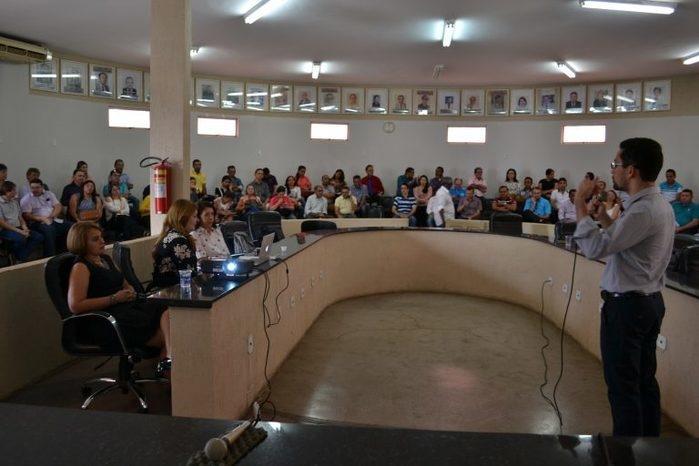 I Treinamento do IEGM (Índice de Efetividade da Gestão Municipal em Picos (Crédito: TCE-PI)
