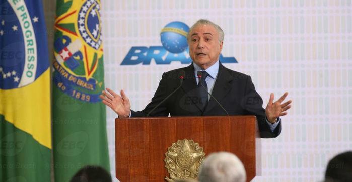 Presidente Michel Temer  (Crédito: Agência Brasil)