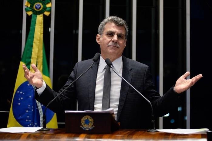 Senador Romero Jucá (Crédito: Jefferson Rudy/Agência Senado)
