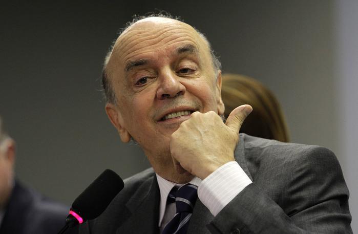 José Serra (Crédito:  Alan Sampaio, iG Brasília)