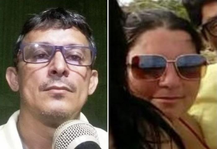 Francisco José Rodrigues e Maria Eliene Rodrigues (Crédito: Arquivo Pessoal)