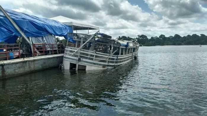 Inquérito é aberto e dono de barco do Pará é indiciado