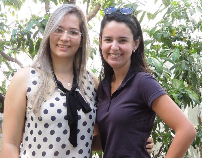 Thayana Sotero e Sarah Mourão (Crédito: Edinardo Pinto )