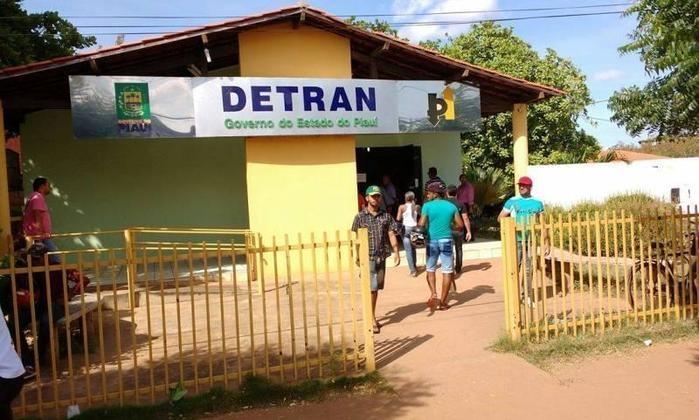 Sede do Ciretran de Picos (Crédito: Reprodução )