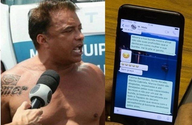 Wladimir Costa pediu 'nude' para mulher