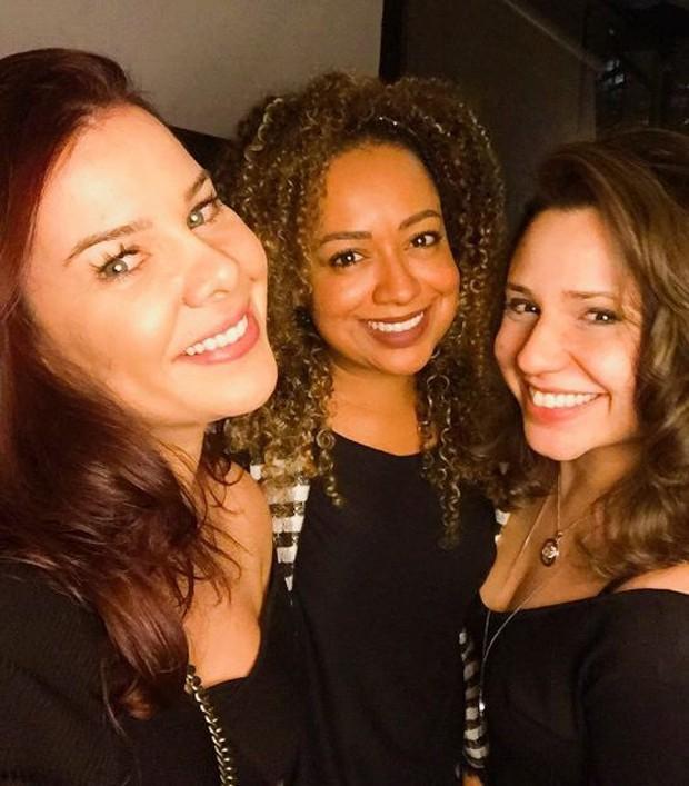 Fernanda Souza, Aretha Oliveira e Francis Helena (Crédito: Reprodução/ Instagram)