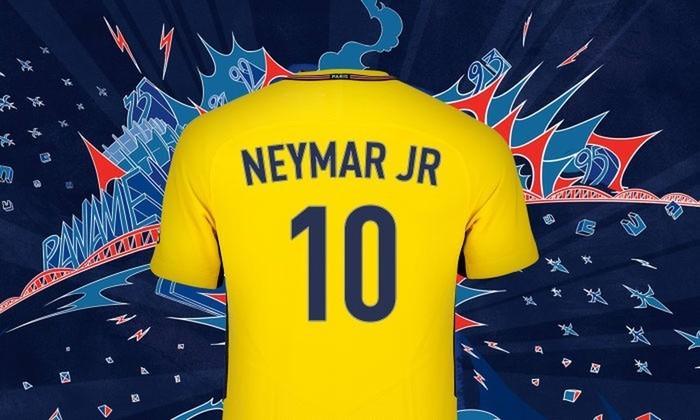 Craque utilizará a camisa 10 no Paris Saint-Germain (Crédito: Reprodução)
