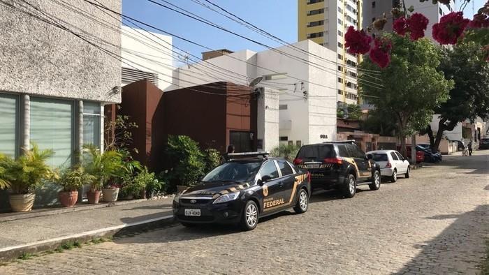 Um dos mandados foi cumprido em um escritório de advocacia  (Crédito:  Ítalo Di Lucena/Inter TV Cabugi)