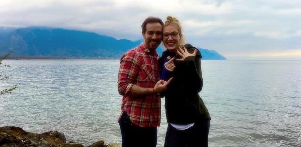 Kevin casa com mulher que salvou sua vida (Crédito: Facebook/Kevin Walsh )