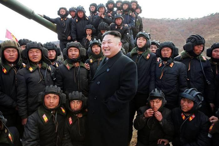 (Crédito: KCNA/Reuters)