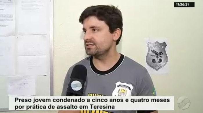 Delegado Cadena Júnior (Crédito: Rede Meio Norte)