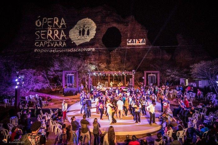 Ópera Serra da Capivara (Crédito: Joaquim Neto)