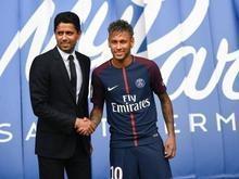 Neymar não descarta estrear pelo PSG neste sábado (05)