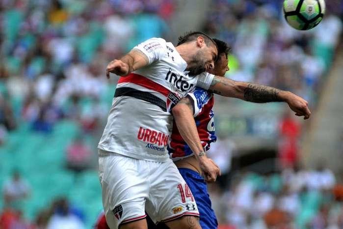 São Paulo perde do Bahia e termina primeiro turno no Z4