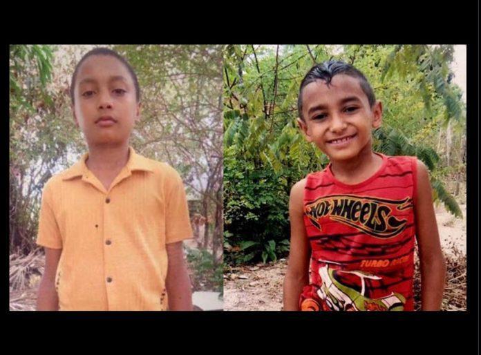 Erisvan da Silva Costa e Roberto da Luz dos Santos (Crédito: Reprodução)