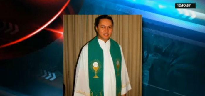 Padre Alan Kardek, da paróquia do município de Boa Hora (Crédito: Rede Meio Norte)