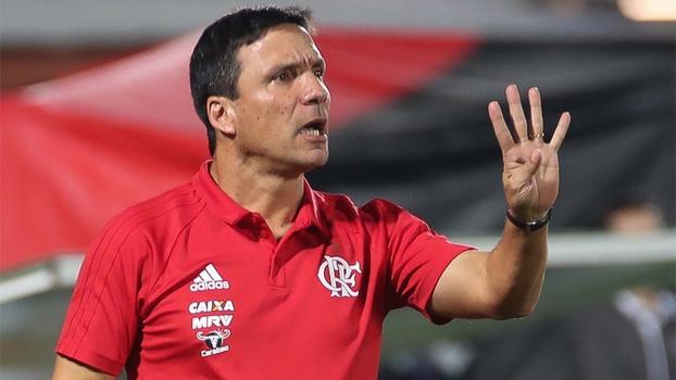 Técnico Zé Ricardo se despediu do Flamengo em nota oficial (Crédito: Reprodução)