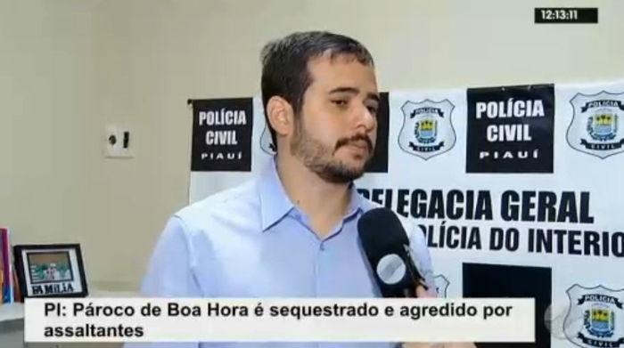Delegado Everton Ferrer (Crédito: Rede Meio Norte)