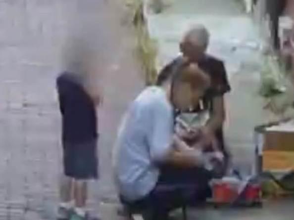 Mãe é flagrada usando heroína na frente do filho de quatro anos