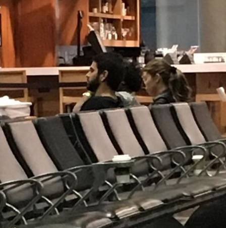 Grazi Massafera é flagrada brigando com o namorado em aeroporto