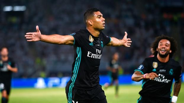 Casemiro comemora gol do Real Madrid (Crédito: Getty)