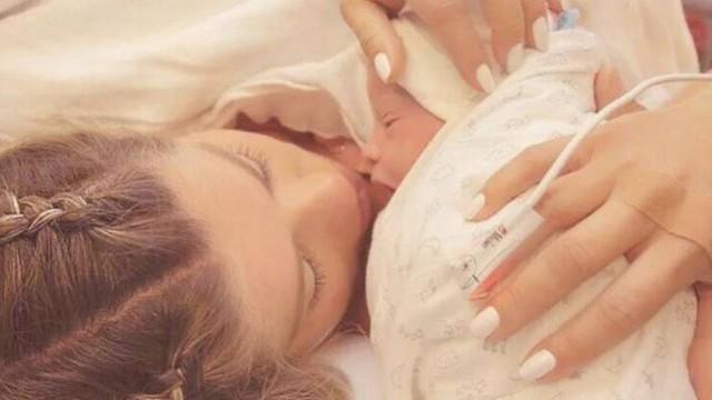 Nasce Enrico, o primeiro filho de Karina Bacchi