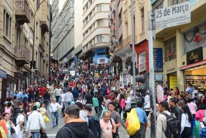 Mais de 59,4 milhões de consumidores estão negativados (Crédito: Agência Brasil)