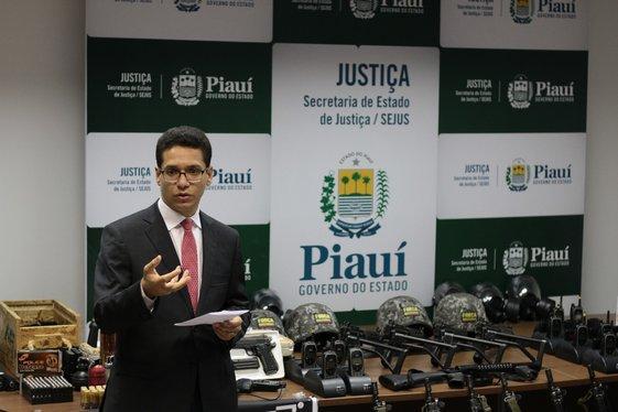 Secretário da Justiça, Daniel Oliveira (Crédito: Tanandro Fabrício)