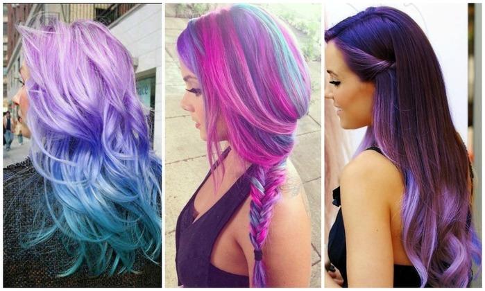 Por que não nascemos naturalmente com cabelo rosa, verde ou azul?