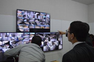 Sistema de monitoramento nos presídios do Piauí (Crédito: Ramiro Pena)