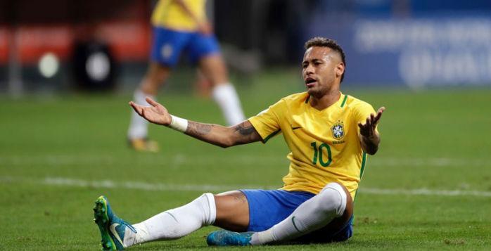 """""""Novo Neymar"""" mostra irritação, não decide e ignora até torcida na seleção (Crédito: Pedro Martins)"""