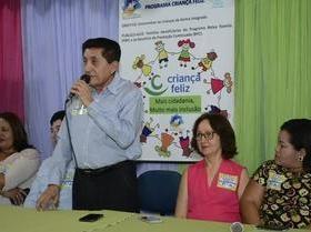Programa Criança Feliz Foi Lançado em Ipiranga