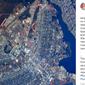 Astronauta posta foto de Brasília vista do espaço:'Parece um avião'
