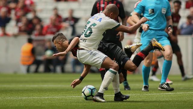 Atletiba terminou em empate (Crédito: PR Press)