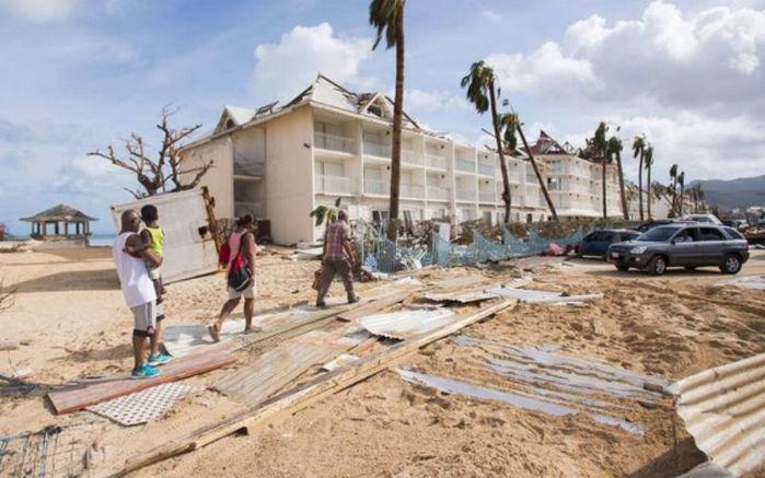 Furacão Irma (Crédito: AFP)