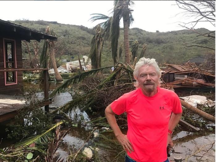 Richard Branson, bilionário dono do Virgin Group (Crédito: Reprodução)