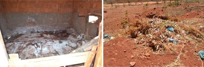 Matadouro público do município de Avelino Lopes (Crédito: MP-PI)