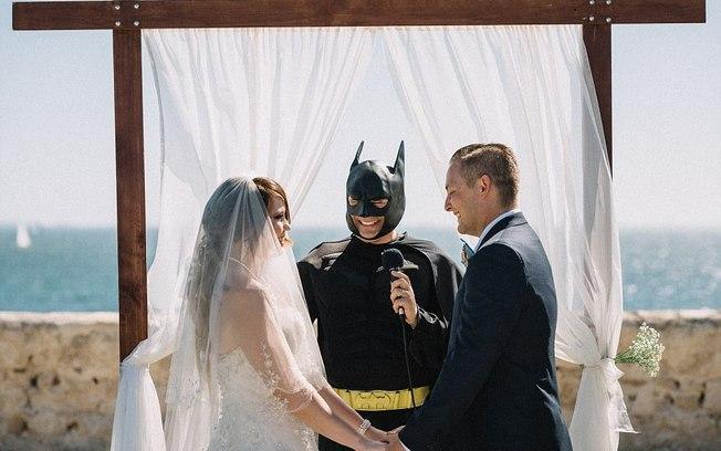Casamento inspirado em quadrinhos  (Crédito: Piotrek Ziolkowski )