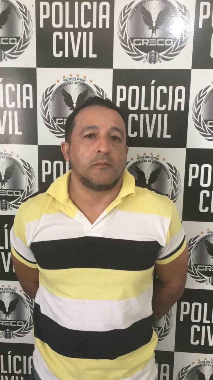 Francisco das Chagas de Moraes (Crédito: Polícia Civil)