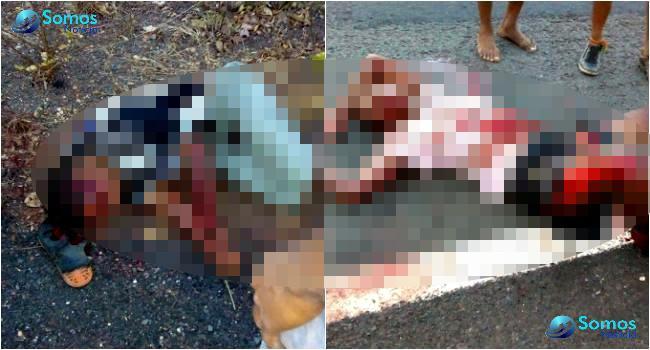 Vítimas ficaram bastante feridas (Crédito: Somos Notícia)