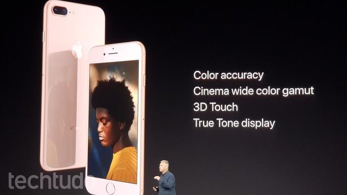 Lançamento do iPhone 8 e 8 Plus (Crédito: Tech Tudo)